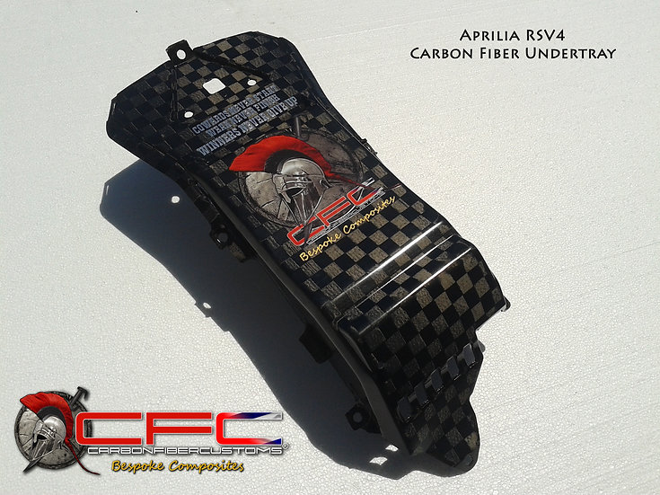 Aprillia RSV4 Carbon Fiber Undertray