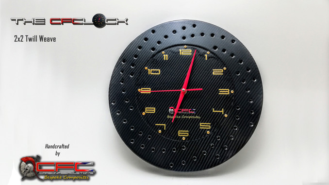 The CFClock 2x2 Weave