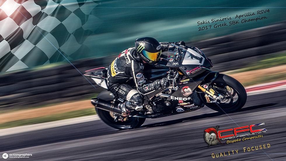Aprilia RSV4 Carbon Fiber Racing Bodykit