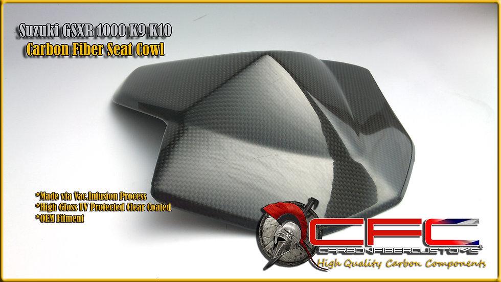 Suzuki GSXR 1000 K9 K10+ Carbon Fiber Seat Cowl