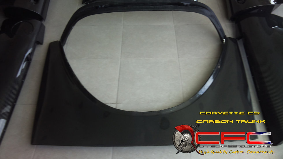 Corvette C5 Carbon Fiber Trunk