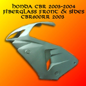 Honda CBR 600RR 03 04 Front & Side Fairings