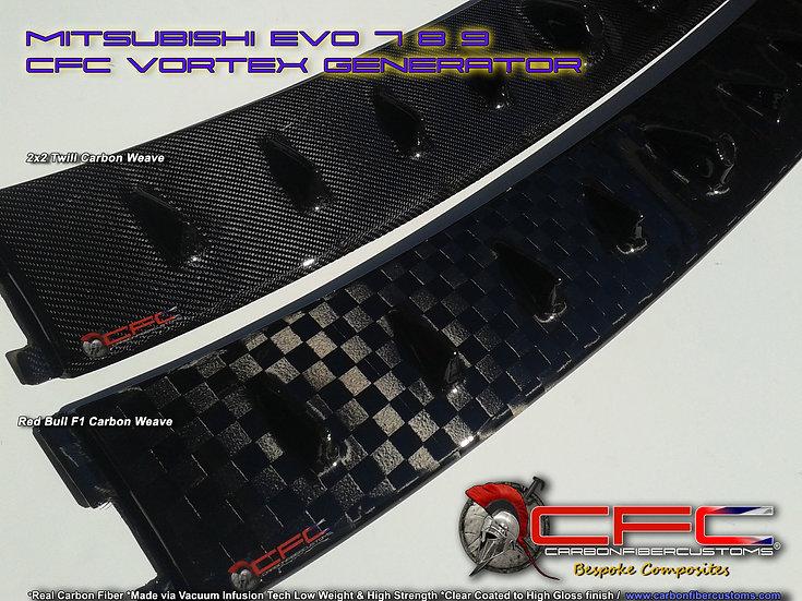 Mitsubishi EVO 7  8 9 Carbon Fiber Vortex Generator