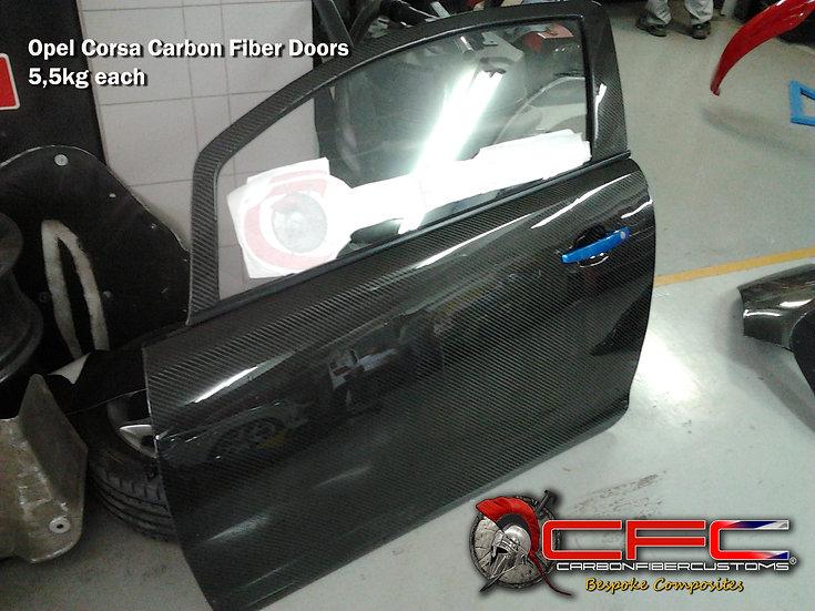 Corsa D Carbon Fiber Racing Doors