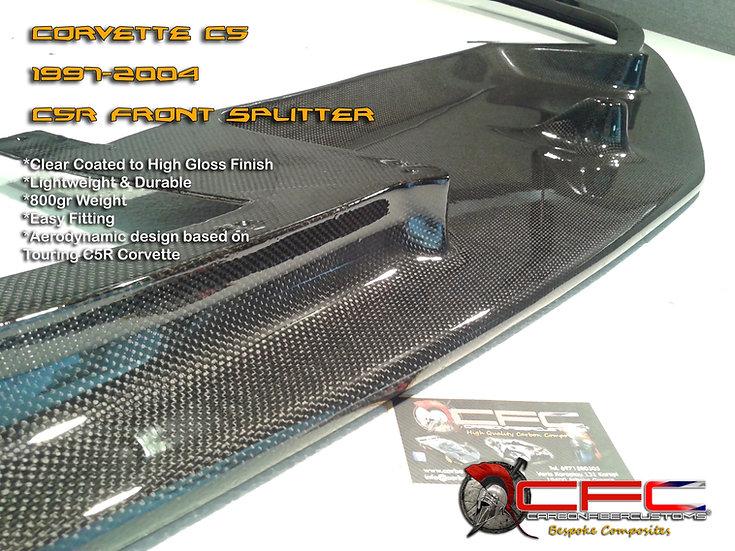 Carbon Fiber Corvette C5R Splitter