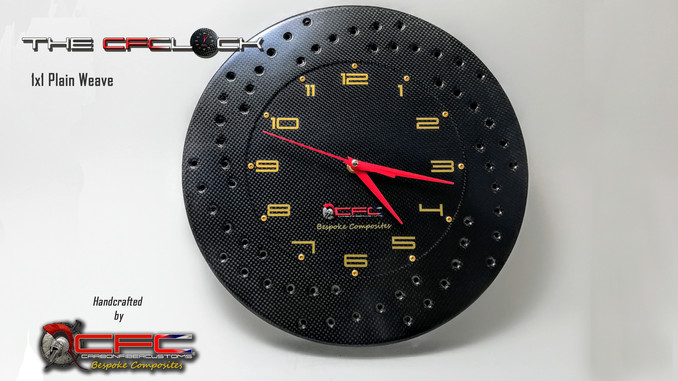The CFClock 1x1 Weave
