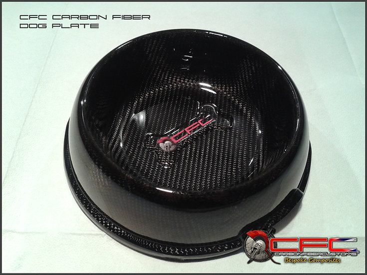 CFC Carbon Fiber Dog Plate