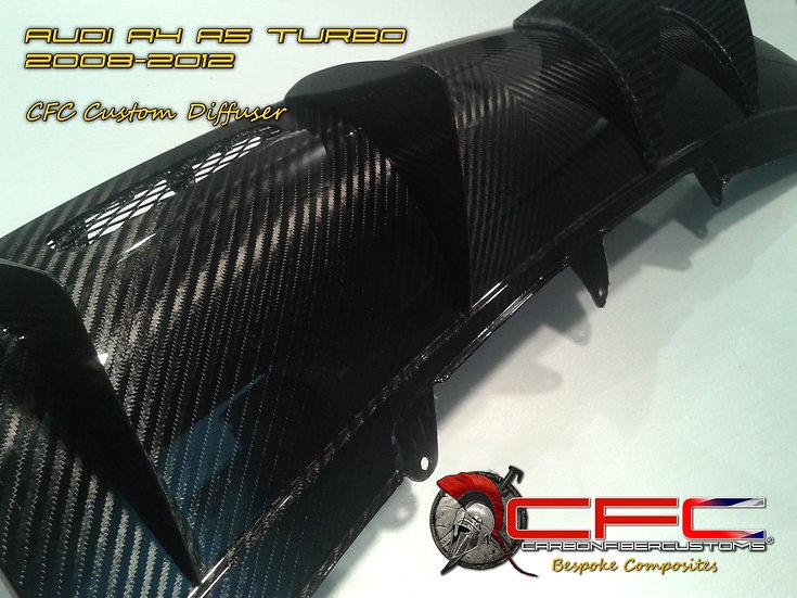 Audi A4 A5 Carbon Fiber CFC Diffuser