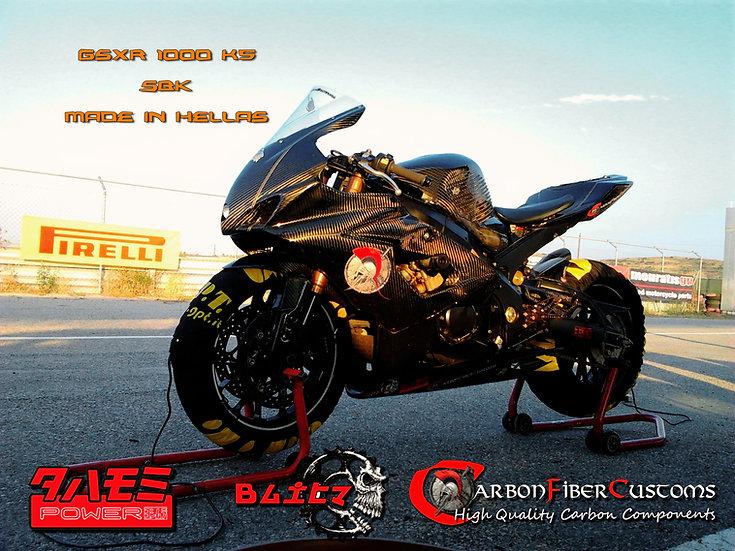 Suzuki GSXR 1000 K5 K6 Carbon Fiber Racing Bodykit