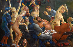 """Party One 41""""x 60"""