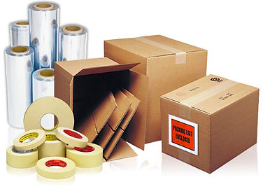 Packaging supplies for shipping
