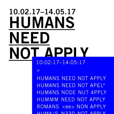 Humans Need Not Apply