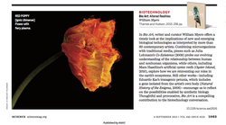 BIOART in the journal SCIENCE