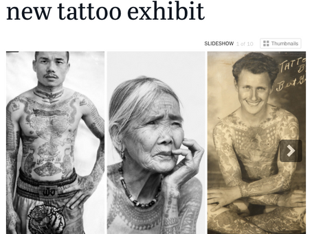 "Check out SCPR's article about the ""Tattoo"" exhibit at The Natural History Musem."