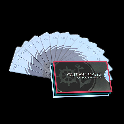 Gift Card - Please email outerlimitslongbeach@gmail.com for gift card orders