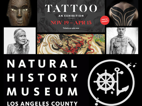 Tattoo Exhibit at Natural History Museum