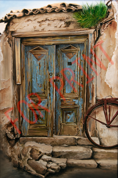 """The Open Door"" By Kari Barba -- Numbered and signed (of 50) High Quality Print"
