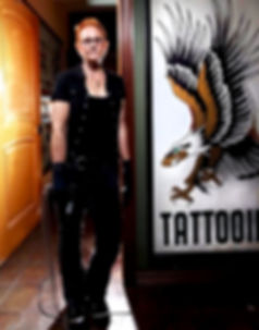 female tattoo artist, Asian tattoo, color tattoo, Best Tattoo Artist, tattoo awards, Trash Polka tattoo, watercolor tattoo, portrait tattoo, tattoo history