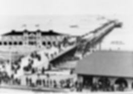 Long Beach Pier, The Pike, Sailors, vintage tattoo, Long Beach history, Bert Grimm, Lyle Tuttle, Ed Hardy, Bob Shaw