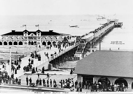 Long Beach Pier, The Pike, Sailors, vintage tattoo, Long Beach history, Bert Grimm, Lyle Tuttle, Ed Hardy, Bob Shaw