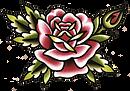 rose tattoo, tattoo flash, color tattoos, black and grey tattoos, flower tattoo, tattoo styles