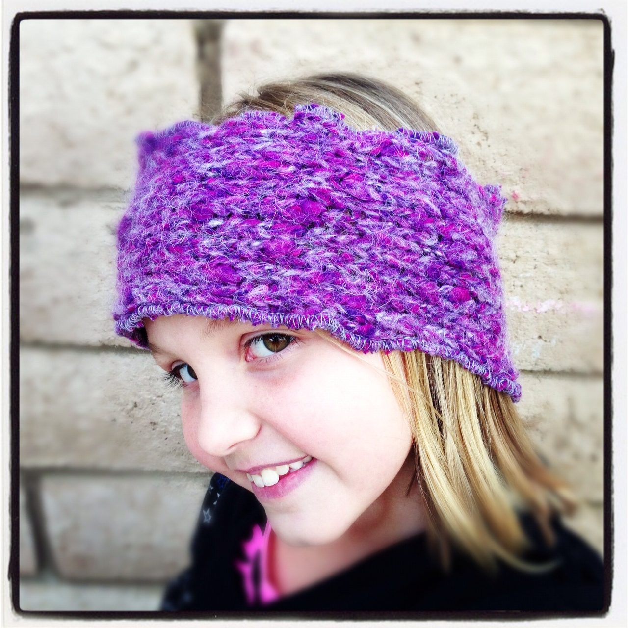 Purple multi headwrap