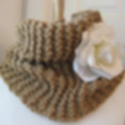 custom knitted cowl scarf