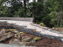 Smith - walls and pavers side view