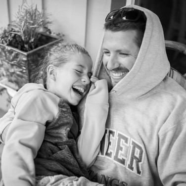 Daddy Daughter Candid moments   Morgan Hill, CA