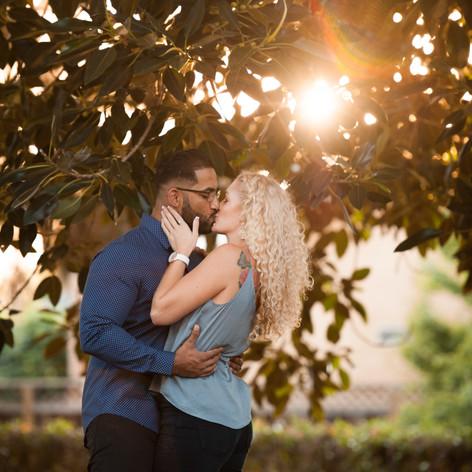 Sunset Kiss   Love   Shinn Park   Bay Area Photographer