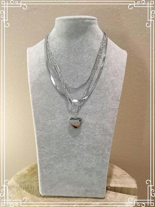 Girocollo acciaio nikel free