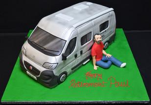 Camping Van and Man.JPG