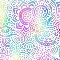19 - Rainbow Pattern