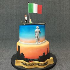 Venice themed cake.JPG