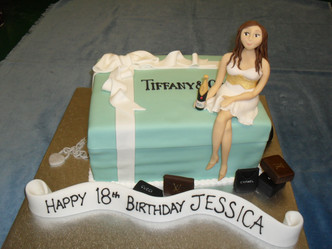 Tiffany Box with model.JPG