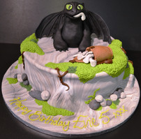Toothless for How to train your dragon.J