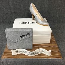 jimmy choo box with shoe and bag.JPG