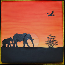 Square with Elephant silhouette.JPG