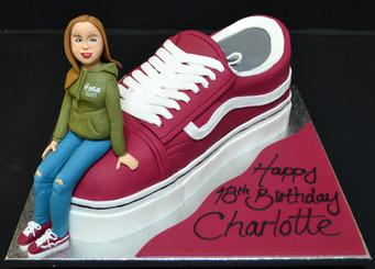 Vans shoe and model.JPG