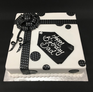 """Parcel with Shimmer Stars. 8"""" - £42.00.  10"""" - £57.00"""