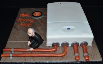 Worcster Boiler with Mini engineer.JPG