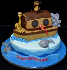 Noah's ark on round duo.JPG