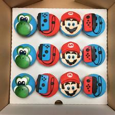 Mario nintendo cupcakes.JPG