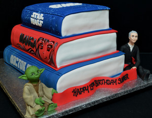 Three stack boos with Dr Who and Yoda.JP