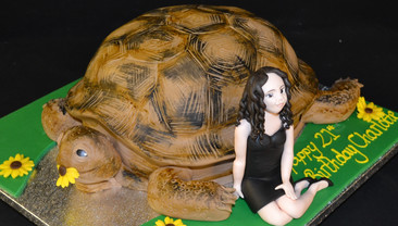 Girl with Tortoise 2.JPG