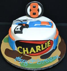 NERF GUN DEEP ROUND CAKE.JPG