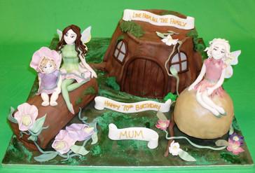Tree Stub with Fairies.JPG
