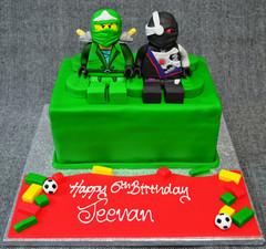 NINJAGO 3D FIGURES ON LEGO BRICK.JPG