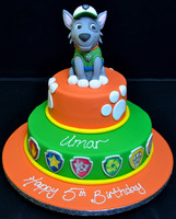 PAW PATROL DUO WITH EDIBLE PHOTOGRAPHS.J