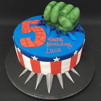 Hulk, Capt. America and Black panther th